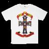 Guns N Roses rock band t shirts white tees cotton 100 S M L XL XXL [4]