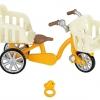 ซิลวาเนียน จักรยานสีเหลือง (JP) Sylvanian Families Bicycle with Baby Seats