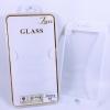 ฟิล์มกระจก Iphone 7 Plus/Iphone 8 Plus เต็มจอสีขาว