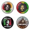 ของที่ระลึกวง Bob Marley เลือกด้านหลังได้ 4 แบบ เข็มกลัด, แม่เหล็ก, กระจกพกพา หรือ พวงกุญแจที่เปิดขวด 1 แพ็ค 4 ชิ้น [2]