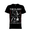 เสื้อยืด วง The Clash แขนสั้น แขนยาว S M L XL XXL [2]