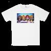 เสื้อยืด วง Red Hot Chili Peppers สีขาว แขนสั้น S M L XL XXL [2]