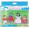 ครอบครัวซิลวาเนียน นาคแวนไดค์ 4 ตัว (UK) Sylvanian Families Vandyke Otter Family