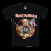 เสื้อยืด วง Iron Maiden แขนสั้น แขนยาว S M L XL XXL [4]