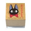 ตัวปั๊มฐานไม้รูปแมวดำจิจิผูกโบว์แดง Kiki's Delivery Service Mini Stamper