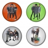 Greenday button badge 1.75 inch custom backside 4 type Pinback, Magnet, Mirror or Keychain. Get 4 in package [3]