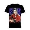 เสื้อยืด วง Elvis Presley แขนสั้น แขนยาว S M L XL XXL [5]