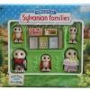 ครอบครัวซิลวาเนียน..นกฮูก 4 ตัว (UK) Sylvanian Plume Owl Family