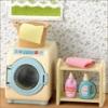 ซิลวาเนียน เครื่องซักผ้าแบบฝาหน้า Sylvanian Families New Washing Machine Set