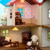ซิลวาเนียน วอล์ลเปเปอร์วิลโลว์ฮอล์ล (JP) Sylvanian Families Wallpaper Willow Hall