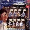 ห้อยโทร/คล้องกระเป๋า..แรทอะทูอีมินิโมเดล 8 ชิ้น (Ratatouille)