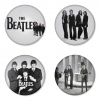 The Beatles button badge 1.75 inch custom backside 4 type Pinback, Magnet, Mirror or Keychain. Get 4 in package [6]