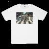 เสื้อยืด วง The Beatles สีขาว แขนสั้น S M L XL XXL [3]