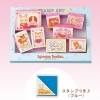 [SOLD OUT] ชุดตัวปั๊มซิลวาเนียน-กล่องฟ้า (JP) Sylvanian Families Stamp Set