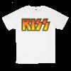 เสื้อยืด วง KISS สีขาว แขนสั้น S M L XL XXL [1]