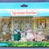 [SOLD OUT] ครอบครัวซิลวาเนียน..กระต่ายสีเทาแบ๊บเบิ้ลบรูก 7 ตัว (UK) Sylvanian Families Babblebrook Grey Rabbit Family