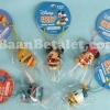 คล้องมือถือ/ห้อยกระเป๋าตุ๊กตาอ้าปากงับๆ ดีสนีย์ 5ชิ้น Micky-Minnie-Stitch-Donald-Pooh