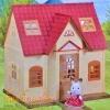 บ้านตุ๊กตากระต่ายซิลวาเนียน (EU) Sylvanian Families My First Sylvanian House