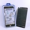 ฟิล์มกระจก(ฟิล์มกันรอย) 3 มิติ Iphone 6Plus/6S Plus สีดำ 2in1 (หน้า-หลัง)