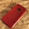 เคส IPhone 7 TPU สีแดงเคฟล่า