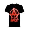 เสื้อยืด วง Anarchy แขนสั้น แขนยาว S M L XL XXL [1]