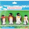 [SOLD OUT] ครอบครัวซิลวาเนียน..ตระกูลเดอเบิร์ก-นกเพนกวิน 4 ตัว (UK) Sylvanian Families Penguin Family