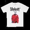 เสื้อยืด วง Slipknot สีขาว แขนสั้น S M L XL XXL [1]