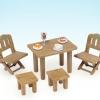 ซิลวาเนียน ชุดโต๊ะนั่งเล่นนอกบ้าน (UK) Sylvanian Families Patio Furniture Set