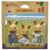 ครอบครัวซิลวาเนียน กระต่ายโอเชอร์ 3 ตัว (EU) Sylvanian Families Ocher Rabbit Family (ชุดคุณพ่อมีตำหนิ)
