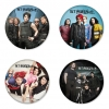 My Chemical Romance button badge 1.75 inch custom backside 4 type Pinback, Magnet, Mirror or Keychain. Get 4 in package [4]