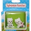 [SOLD OUT] ซิลวาเนียน เบบี้แฝดเทอร์เรีย ท่านั่ง-คลาน (UK) Sylvanian Families McWalkies West Highland Terrier Twins V5%