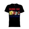 เสื้อยืด วง Blink-182 แขนสั้น แขนยาว S M L XL XXL [2]