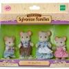 ครอบครัวซิลวาเนียน หนูเมือง 4 ตัว (EU) Sylvanian City Mouse Family