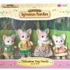 ซิลวาเนียน ครอบครัวหมาชิวาวา Sylvanian Families Chihuahua Dog Family