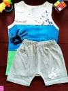 ชุดกล้ามเด็ก size XXL (สีฟ้า)