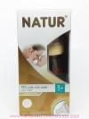 ขวดนมเนเจอร์ Natur ปากกว้างสีน้ำผึ้ง PES 4 ออนซ์