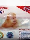Pigeon Baby Wipes ผ้าเช็ดทำความสะอาดผิว พีเจ้น สูตรคาโมมายล์ 82ชิ้น/ห่อ (2ห่อ)