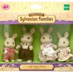 ซิลวาเนียน..ครอบครัวกระต่ายมิลค์ 4 ตัว (EU) Sylvanian Milk Rabbit Family
