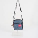 กระเป๋าสะพายข้าง Manhattan รุ่น MP 1403-WLR WOOLRICH CITY LIGHT - FLAP NVY