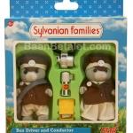 ซิลวาเนียน คนขับรถและพนักงานเก็บตั๋ว (UK) Sylvanian Families Bus Driver & Conductor Set
