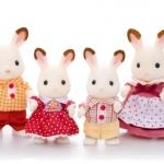ครอบครัวซิลวาเนียนกระต่ายชอคโกแล็ต (JP) Sylvanian Chocolate Rabbit Family