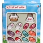รองเท้าและกระเป๋าซิลวาเนียน (UK) Sylvanian Families Shoes and Bags Set