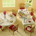 ซิลวาเนียน เฟอร์นิเจอร์งานแต่งงาน (UK) Sylvanian Families Wedding Furniture Set