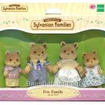 ครอบครัวซิลวาเนียน หมาจิ้งจอก 4 ตัว (JP) Sylvanian Families Fox Family