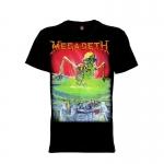 เสื้อยืด วง Megadeth แขนสั้น แขนยาว S M L XL XXL [1]