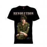 เสื้อยืด วง John Lennon แขนสั้น แขนยาว S M L XL XXL [3]