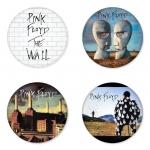 ของที่ระลึกวง Pink Floyd เลือกด้านหลังได้ 4 แบบ เข็มกลัด, แม่เหล็ก, กระจกพกพา หรือ พวงกุญแจที่เปิดขวด 1 แพ็ค 4 ชิ้น [1]