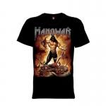 เสื้อยืด วง Manowar แขนสั้น แขนยาว S M L XL XXL [4]