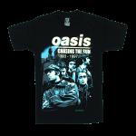 เสื้อยืด วง Oasis แขนสั้น แขนยาว S M L XL XXL [2]