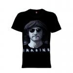 เสื้อยืด วง John Lennon แขนสั้น แขนยาว S M L XL XXL [1]